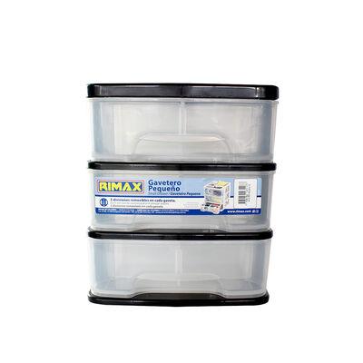 Organizador Plástico Rimax Rx7117 3 Cajones