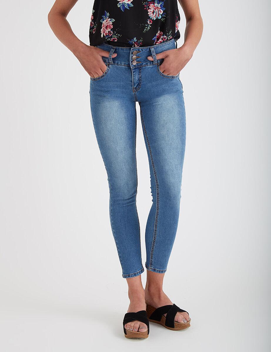 Jeans Tiro Alto Rihanna Icono