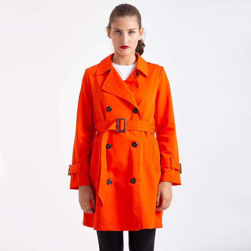 Gabardina Zibel Mujer Trench Coat