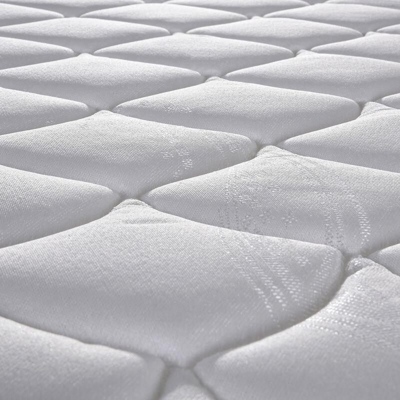 Cama Am.2 Plazas CIC Essence 5 Base Divi.+ Madera + Textil