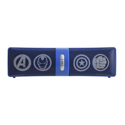 Parlante Bluetooth Avengers Marvel Azul