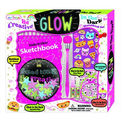 Set Sketchbook Brilla en la Oscuridad
