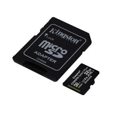Tarjeta Micro SD Kingston 32GB con Adaptador