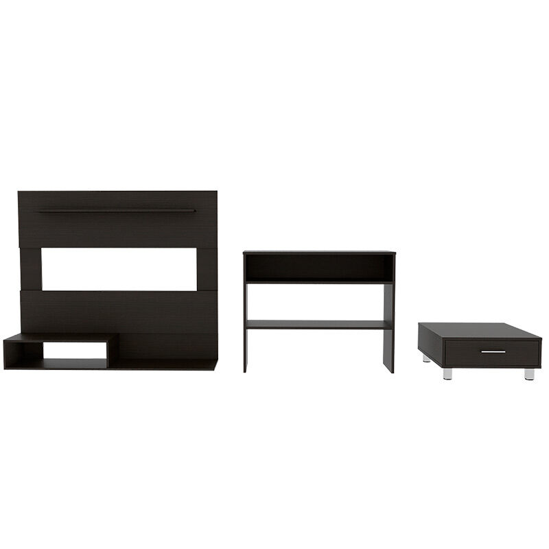 Set Panel TV + Arrimo + Mesa
