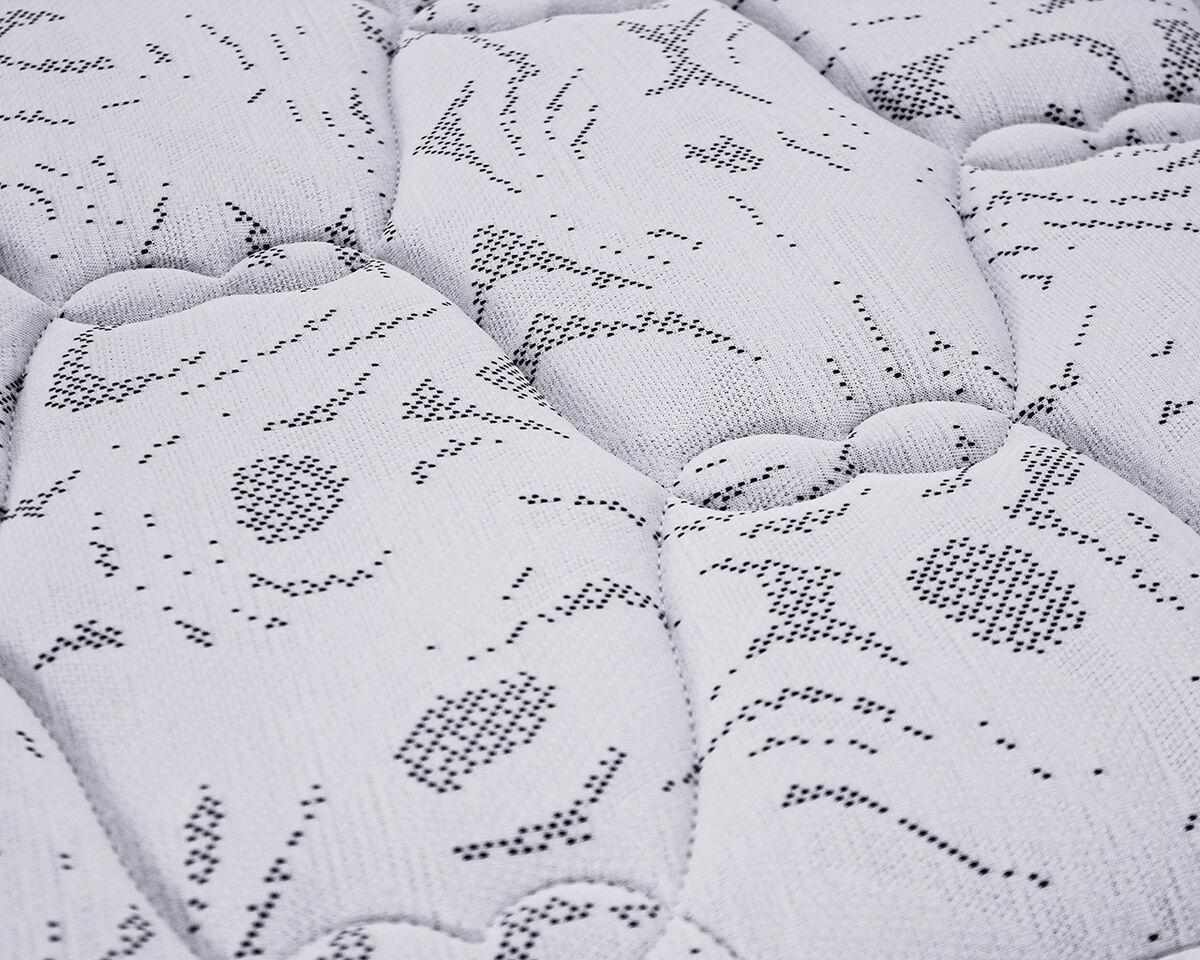 Cama Europea Celta 2 Plazas Base Normal Active + Textil