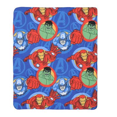 Frazada Polar Disney Avengers zoom 115 x 130 cm