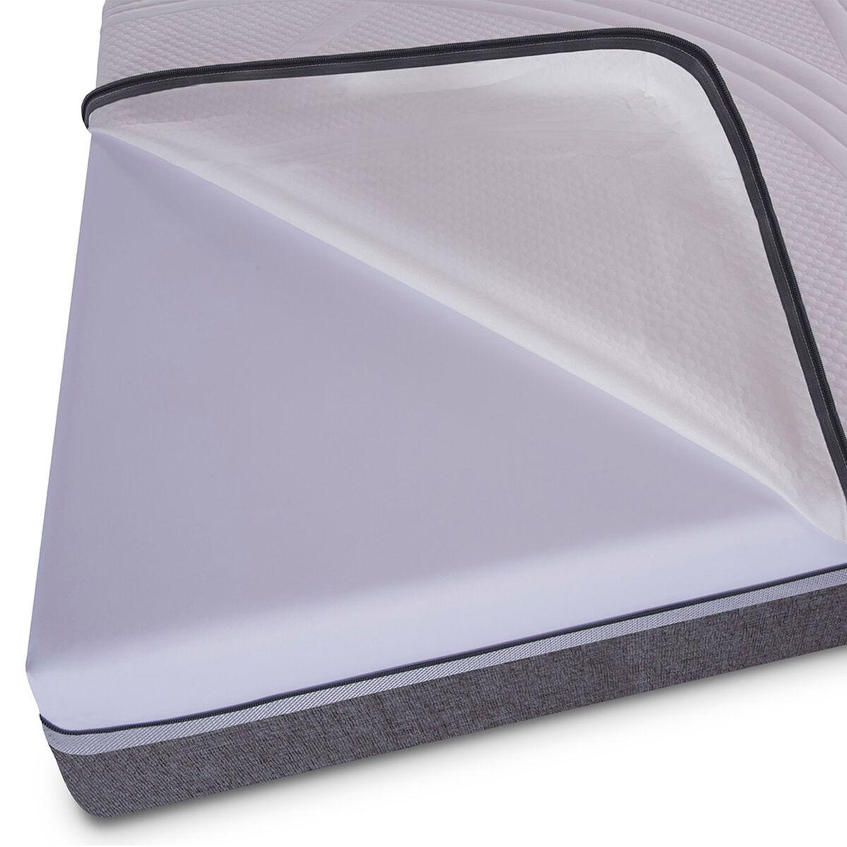 Box Spring King Div Ortopedic Advance + Set Maderas Napoles + Textil