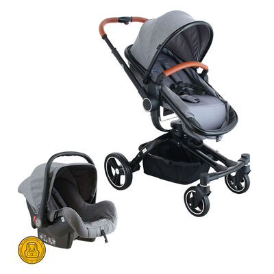 COCHE TRAVEL SYSTEM 360 BW-414G20 GRIS