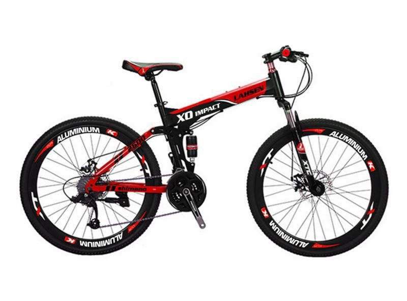 Bicicleta Lahsen Hombre Storm Fire  Aro 26