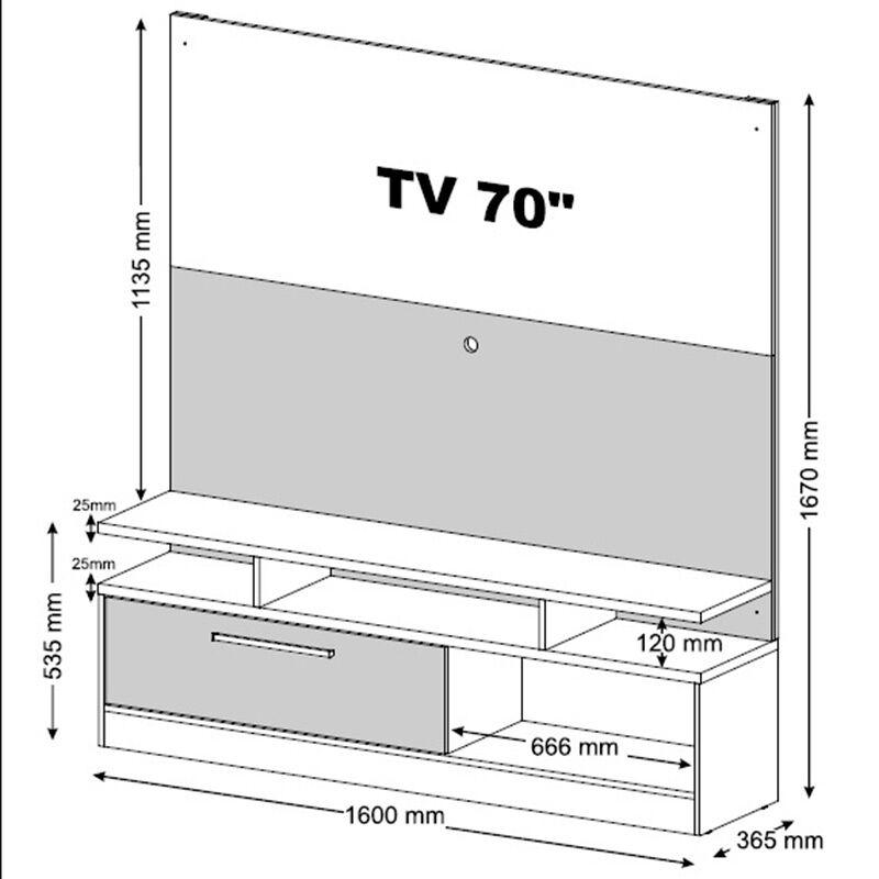 """Centro de Entreteción TV 60"""""""