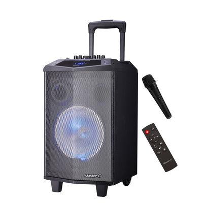 "Parlante Karaoke Portátil Master-G con Bluetooth 8"""