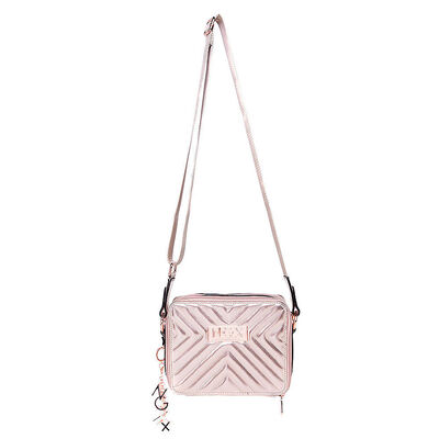Bolso Pu Quilted Box