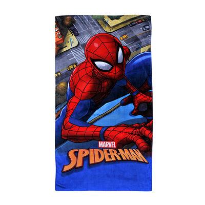 Toalla de Playa Disney Spiderman  Street 70 x 40 cm