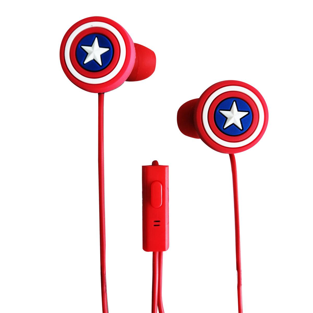 Audífonos In Ear Capitán América Marvel
