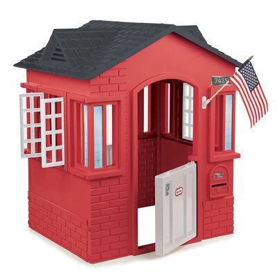 Casa para Jardín Roja