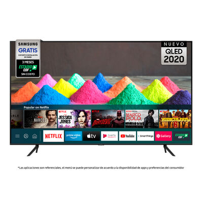"QLED 55"" Samsung Q60T Smart TV 4K Ultra HD 2020"