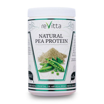 Proteína Vegana De Arveja Natural Pea Protein Revitta 390 Grs. 30 Servicios