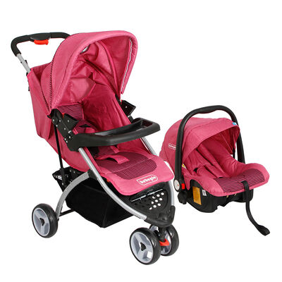 Coche Travel System Bebeglo RS 1320