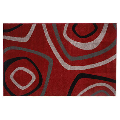 Alfombra Idetex Carved Rojo 150 x 200 cm