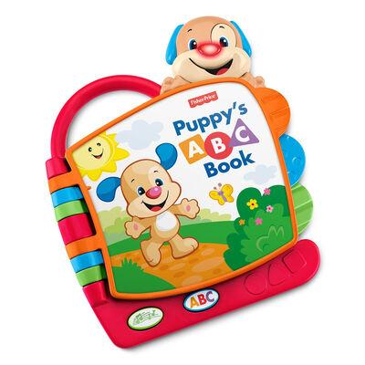 Fisher Price Ríe y Aprende Juguete para Bebés Libro ABC de Perrito