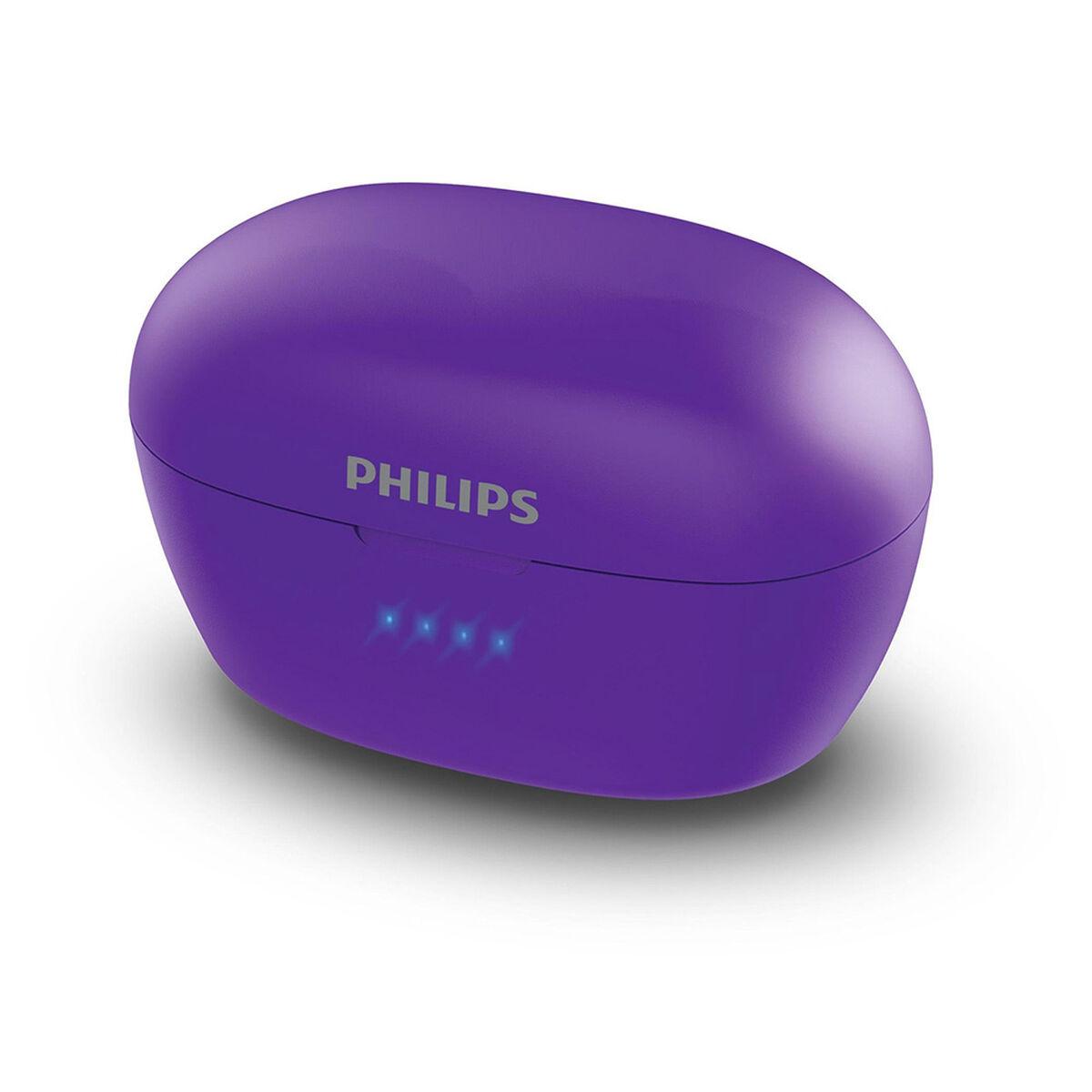 Audifonos Bluetooth Philips Upbeat Morados