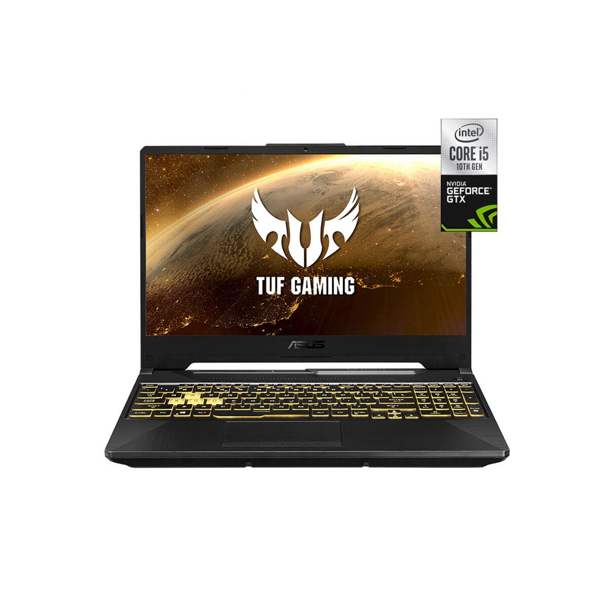 "Notebook Gamer Asus Tuf F15 FX506LI-HN039T Core i5-10300H 8GB 512GB SSD 15.6"" NVIDIA GTX1650Ti"