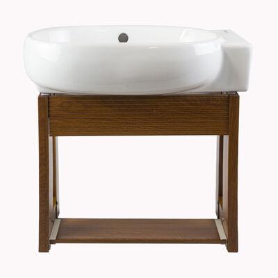 Mueble Vanitorio Britbox Durham + Espejo + Lavamanos