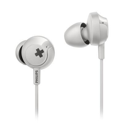 Audífonos In Ear Philips SHE4305WT BASS+ Blancos