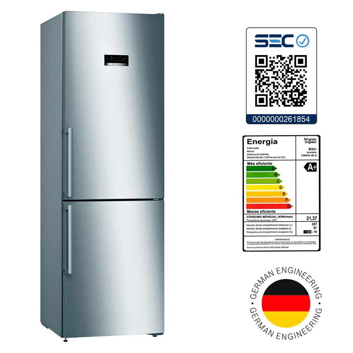 Refrigerador No Frost Bosch KGN36XI35 324 lt