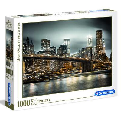 Puzzle 1000 Hqc New York Skyline Clementoni