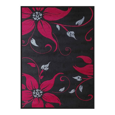 Alfombra Frize Carved D1 80X120 Cm Negro