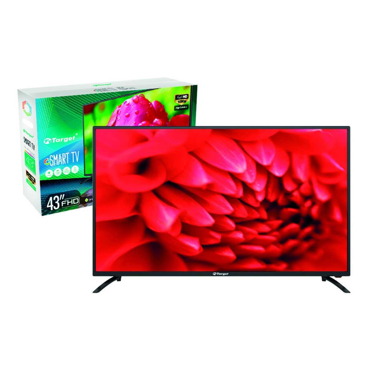 "DLED 43"" Target LE-4319N Smart TV Full HD"
