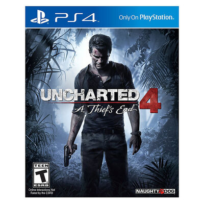 Juego PS4 Uncharted 4 A Thiefs End