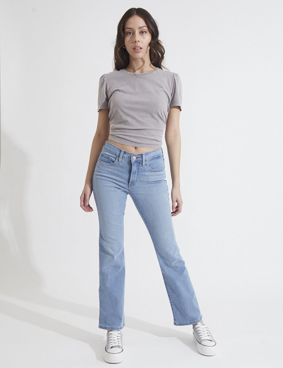 Jeans Boot Cut Mujer Levis