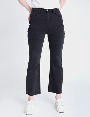 Jeans Indigo Mujer Fiorucci Cropped Flare