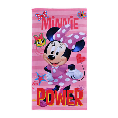 Toalla de Playa Microfibra Minnie Pollito 70X140 Cm