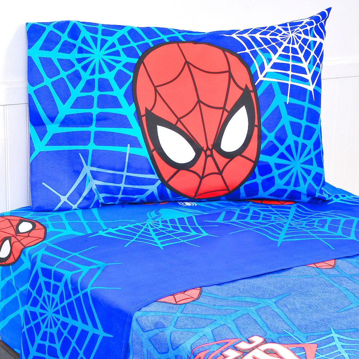 Sábana Spiderman Masks 1,5 Plazas