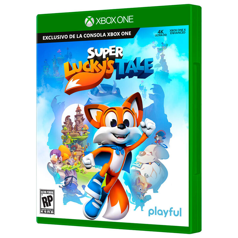 Juego Super's Lucky Tale X-Box One