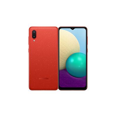 "Celular Samsung Galaxy A02 32GB 6,5"" Rojo Liberado"