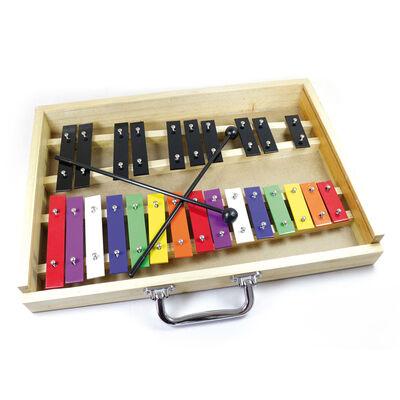 Metalófono Alaguez 25 Notas Color