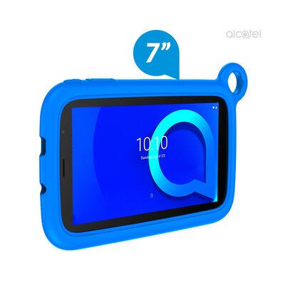 "Tablet Alcatel Kid 7 Quad Core 1GB 16GB 7"" + Carcasa de Goma Azul"