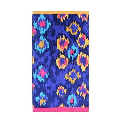 Toalla de Baño Mashini Cusco Velvet Estampada 70 x 150 cm