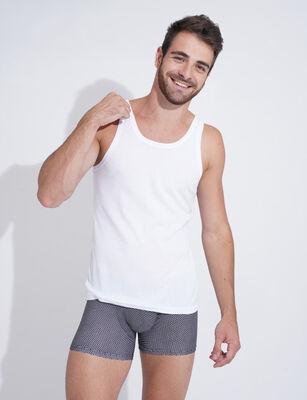 Camiseta de Algodón sin Mangas Hombre Portman Club