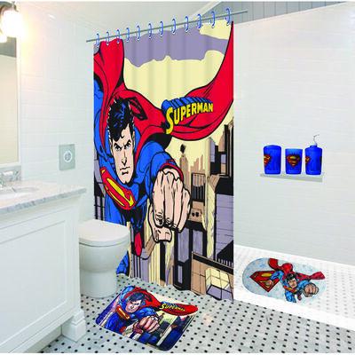 Conjunto de Baño 3 Piezas Superman Escena