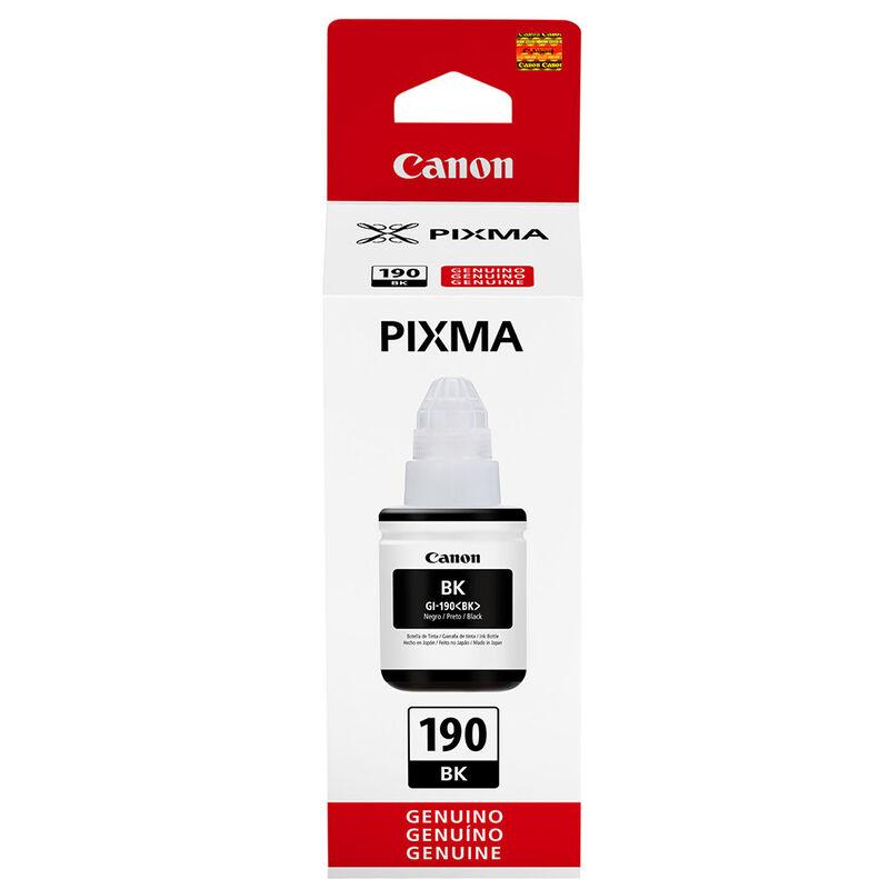 Tinta para Impresora Canon GI-190 BK