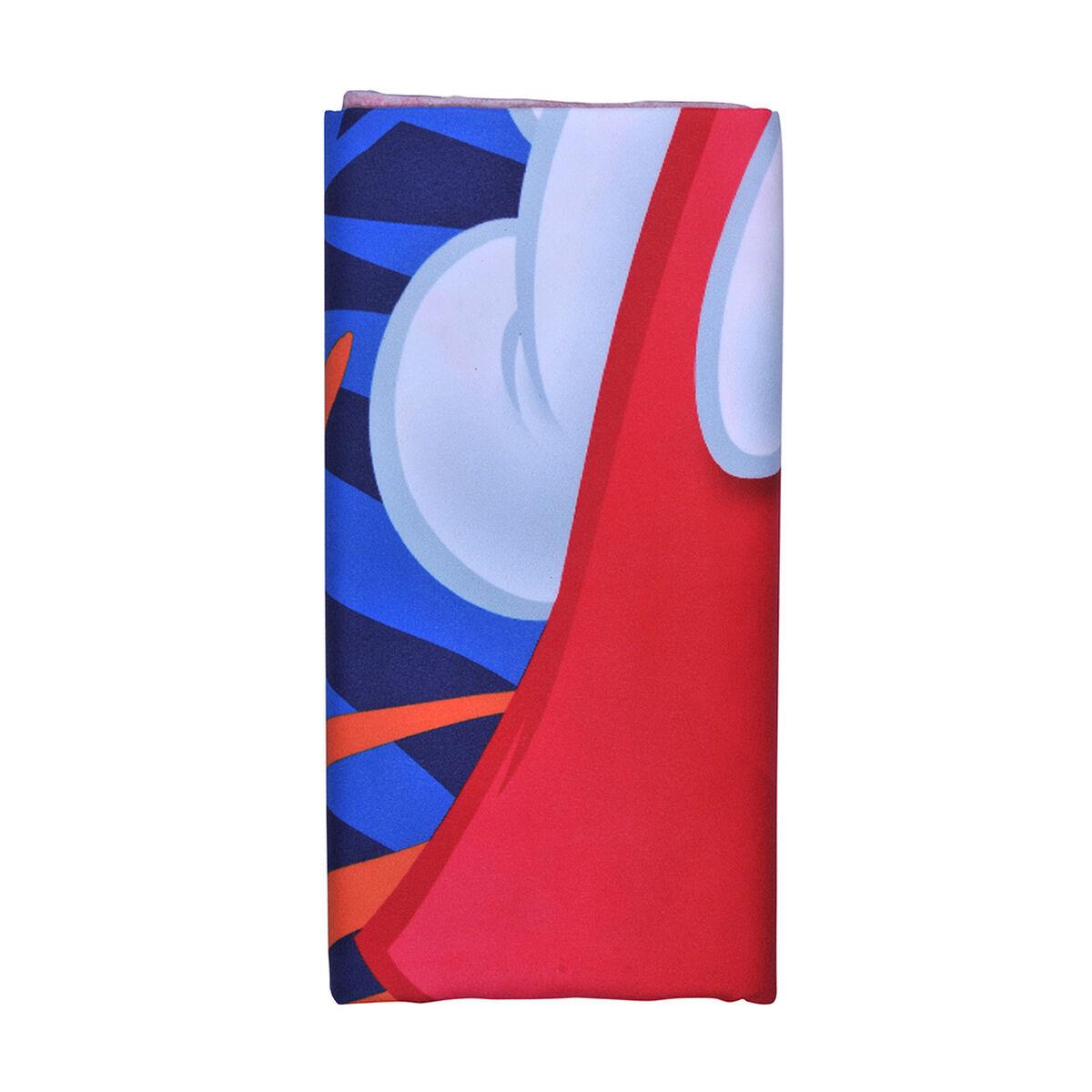 Toalla de Playa Suede Disney-Mickey Fast 70X140 Cm
