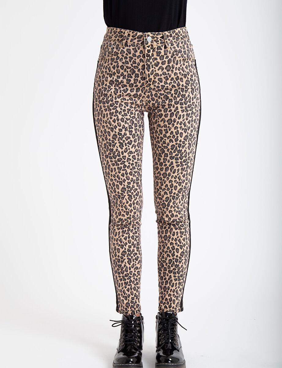 Jeans Icono Animal Print