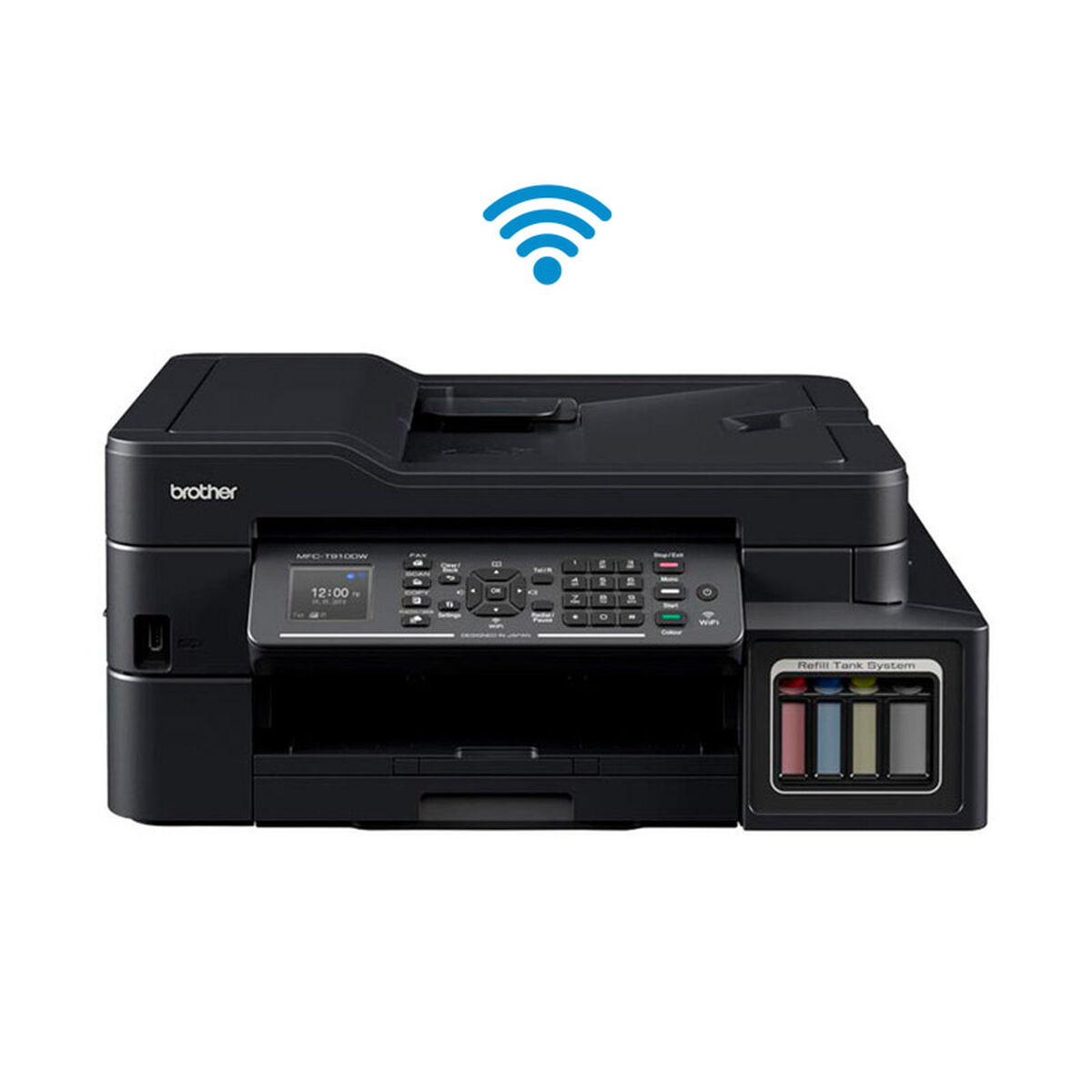 Multifuncional Brother Tinta Continua MFC-T910D WiFi