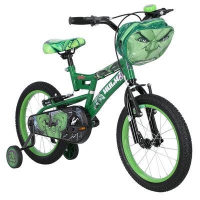 Bicicleta Niño DisneyHulk Aro 16 Verde