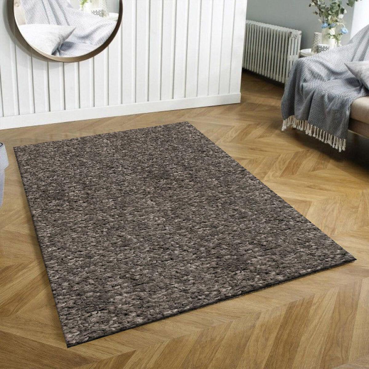 Alfombra Interior Idetex Frise Lisa 150 x 200 cm